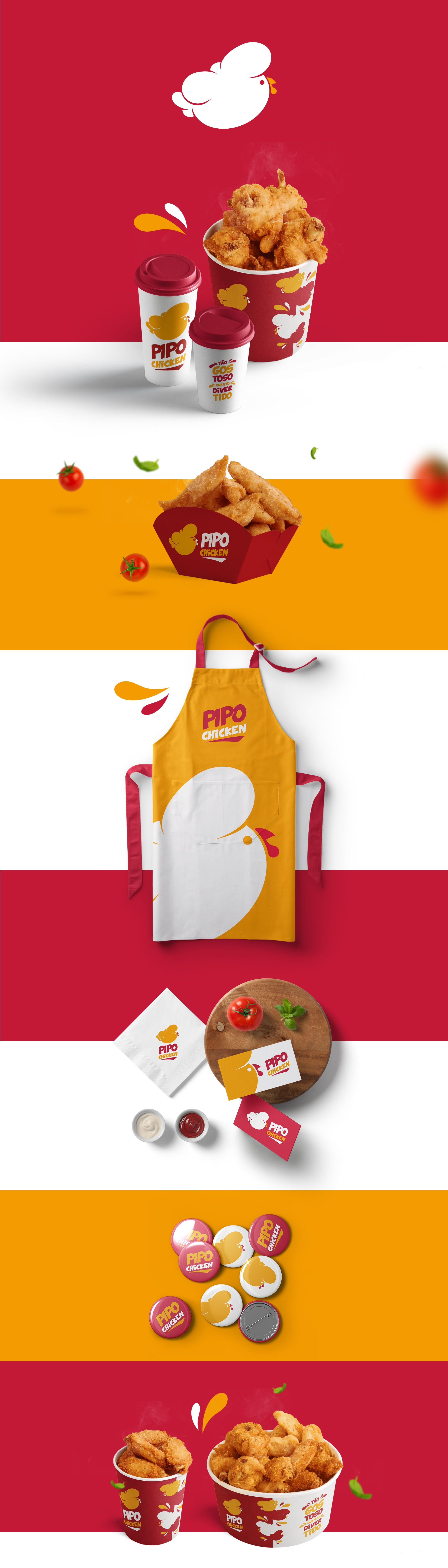 Logo Restaurante Pipo Chicken