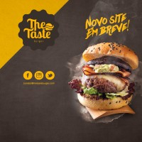 Case – The Taste – LOGO Hamburgueria Gourmet