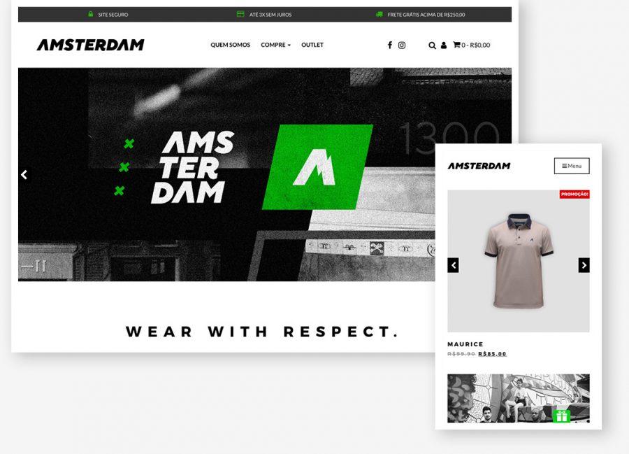 Loja virtual Amsterdam